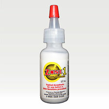 Zone1 Tattoo Piercing Cosmetic Eye Skin Topical Anesthetic Cream Lidocaine