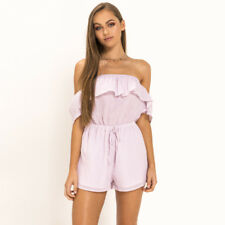 Mooloola Villena Playsuit in Pink