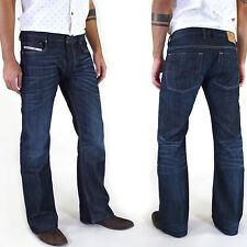 New & Original DIESEL ZATHAN Men's Jeans Pants BOOT-CUT INDIGO All Sizes