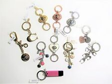 COACH KEY RINGS VALET KEY CHAINS FOB Different Styles New With Tags and Dustbag