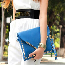 New Women Envelope Clutch Handbag Purse Tote Shoulder Messenger Bag Ladies Bag