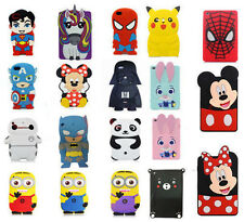 Hot 3D Disney Cartoon Shockproof Soft Rubber Cover Case For iPad 2 3 4 5 6 Mini