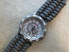 NEW!! Timex Expedition Watch with Paracord Band & Black Adjustable Shackle