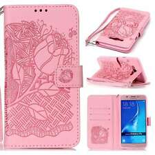 Peony Ultra Slim PU Leather Magnetic Smart Case Cover Strap For Phones Pink