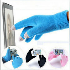 Fashion Unisex Warm Phone iPad Smart Touch Screen Knitted Winter Magic Gloves