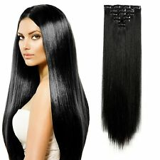 Latest MAJIK Indian Clip in Remy Full Head Human Hair Extensions premium Quality