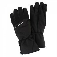 Dare 2b Adults Mimic Snow Skiing Insulated Thick Padded Ski Gloves in Black