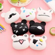 Cute Wallet Women Girls Gift Cartoon Animal Silicone Bag Keys Pouch Coin Purse