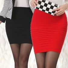 Slim Women Stretch Tight Mini Hot Skirt Sexy Fashion Shorts Fitted Dress Pencil