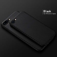 Luxury Ultra-thin Carbon Fiber Back Case Cover For Apple iPhone 8/ 7 Plus