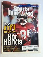 Sports Illustrated 1992 NFL Preview JERRY RICE Sept 7, 1992