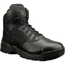 Magnum Mens Black Leather Stealth Force 6.0 Tactical Boots Lace Up