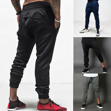 Mens Causal jogging Skinny Athletic Sports Long Pants YOGA GYM Loose Trousers