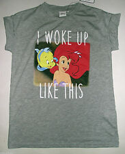 PRIMARK LADIES DISNEY PRINCESS ARIEL THE LITTLE MERMAID T SHIRT TEE TOP UK 6-10