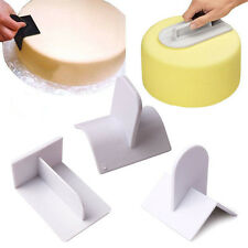 Cake Decorating Smoother Paddle Tool Sugarcraft Fondant Polisher Finisher