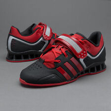ADIDAS ADIPOWER WEIGHTLIFTING SHOES M21865 BLACK/RED SIZE 8-13 POWERLIFT /