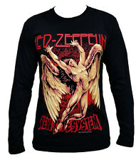 Led Zeppelin fashion graphic fun rock band long sleeve t-shirt tee top Size M L