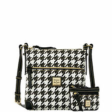 Dooney & Bourke Houndstooth Letter Carrier with Small Coin Case