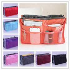 Women Travel Insert Handbag Lady Organiser Purse Large Liner Organizer Tidy Bag