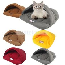 Various Pet Dog Cat Bed Nest House Sleeping Bag Mat Kennel Blanket S/M/L CHOOSE