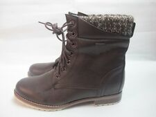 Womens Firetrap Vogue High Ladies Brown Boots