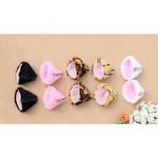 Hot Sweet Fashion Cosplay Party Anime Costume Cat Fox Ears Long Fur Hair Clip