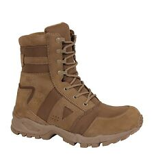 "Tactical Boots COYOTE TAN MILITARY Regulation 8"" Light Weight  Size 5-13 Reg"