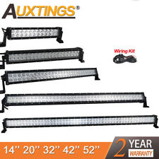 72W 120W 180W 240W 52Inch 300W Led Work Light Bar Combo SUV Boat Driving Lamp