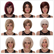 Fashion Women's Short straight hair Fluffy Natural Lolita Wig Cosplay party wigs