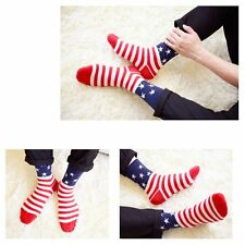 1 Pair Men Women Winter Ankle Socks Low Cut Crew Casual Sport Color Cotton Socks