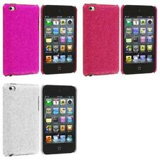 For iPod Touch 4th Gen 4G Color Sparkly Bling Glitter Hard Ultra Thin Cover Case