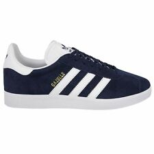 Adidas Gazelle Navy White Mens Trainers