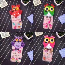 3D Cartoon Owl TPU Soft Case Cover Shell For iPhone 6/6S Plus iPhone7 Plus