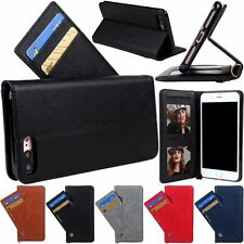 Luxury Card Slots Stand Flip Leather Wallet Case Cover For Apple iPhone 7 Plus