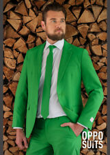 Adult Mens Bright Green Evergreen Oppo Suit Costume
