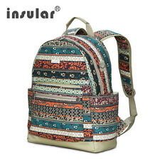 Bohemia Canvas Women Backpack Bag Fashion School Bag Ladies Laptop Backpack Bag