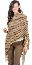 Women Winter Tassels Poncho Long Knitted Pullover Knitted Cape Sweater !!!