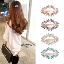 Vintage Women Butterfly Crystal Hair Clip Hairpin Barrette Hair Accessories