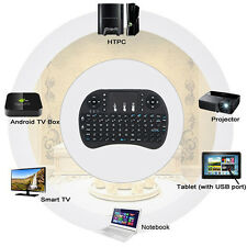 Mini 2.4G Backlit Wireless Touchpad Keyboard Air Mouse For PC Pad Android TV Box