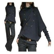 Women Autumn Winter Knitted Batwing Sleeve Top Pullover Coat Loose Sweater!!!