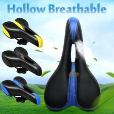 Mountain MTB Bike Bicycle Seat Hollow Saddle Soft Cushion Pad Cycling Riding New