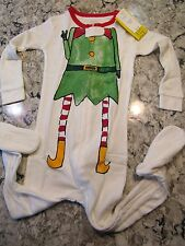 NWT Baby Gap Holiday ELF Footed SLEEPER Size 12-18 mo OR 18-24 mo OR 2T