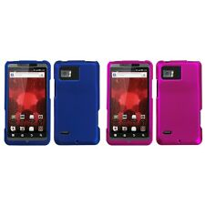 For Motorola Droid Bionic XT875 Snap-On Hard Case Phone Skin Cover Accessory