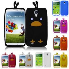 For Samsung Galaxy S4 Silicone Skin Soft Rubber Case Phone Cover