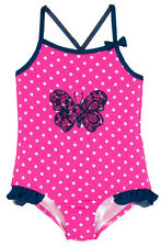 Wippette Baby Girls Butterfly with Polka Dots Once Piece Swimsuit