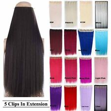 Bado Hair 38colors Long 3/4 Full Straight Clip In Hair Extension One Piece Only