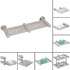 Doyours Stainless Steel Anti-corrosive Bathroom Organizer Soap Dish Holder