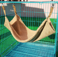 S/M/L Size Pet Cat Dog Hammock Wool Hanging Cage Comforter Ferret Bed 4 Colors