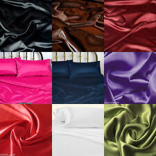 NEW 800 TC All US Size Scala Brand Satin Silk Supr Soft Bedding Hottel Colection