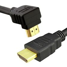HDMI v1.4 Right Angled Gold Plated 1080p 3D Ethernet High Speed HDTV LCD Cable